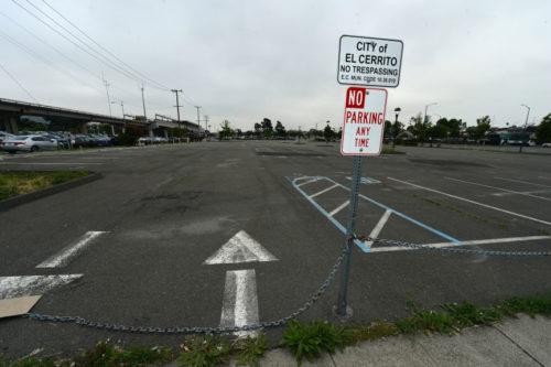 BART parking lot