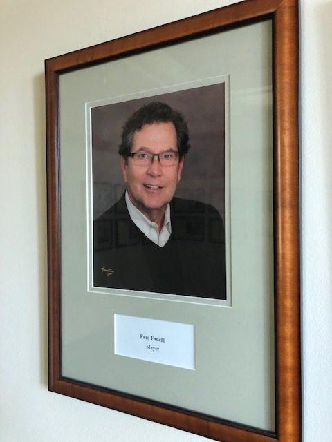 Photo of Paul Fadelli framed